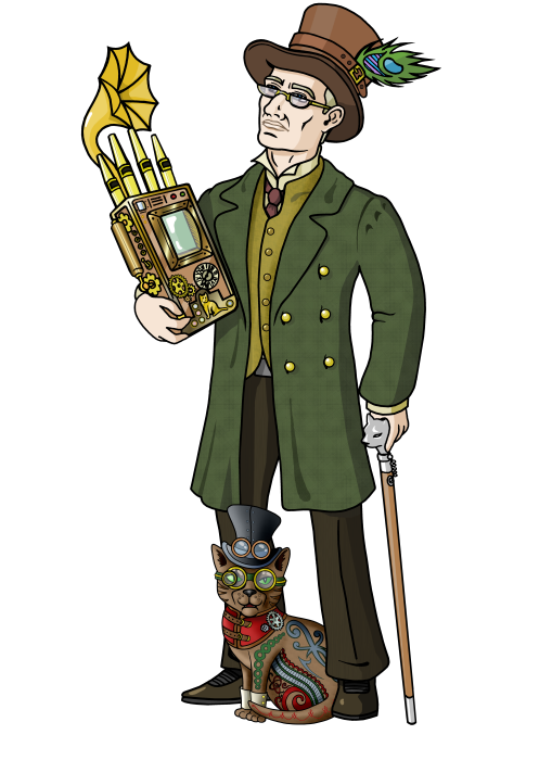 MDK in SteamPunk visage